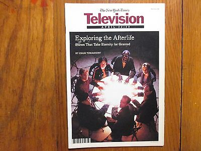 April 23, 2000  N Y Times TV Magazine(THE OTHERS/MELISSA CRIDER/AINSLEY HARRIOTT