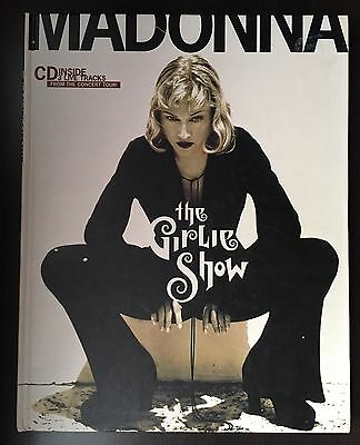 Madonna GIRLIE SHOW Concert Book with CD