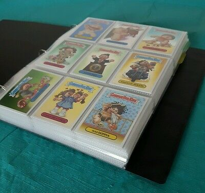 Garbage pail kids 2014 chrome series 2 complete sets. Base pencil refractor.