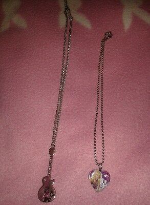 Set of two Hannah Montana Disney Necklaces Jewellery