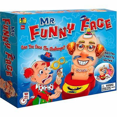 New Sealed box Mr Funny Face Board Game  Age 4+