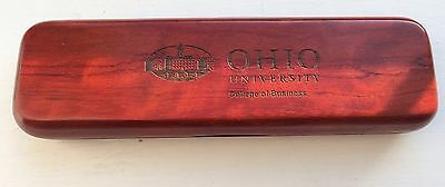 Ohio University College of Business official Pen and Pencil Set in Wood Box
