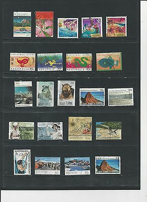 Australia Dependencies - Selection Of Used Stamps - #ad2