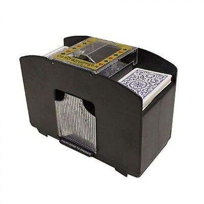 Brybelly 4 Deck Card Shuffler with 4 Free Decks of Bicycle Playing Cards