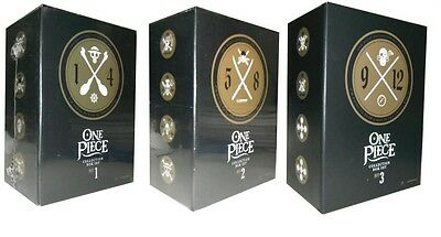 One Piece Collections: Complete Boxes 1 to 3 Episodes 1-299 Collections 1 to 12