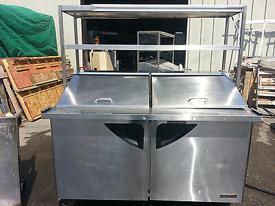 Turbo Air TST-60SD-24 Prep Table with Shelves