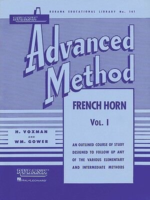 Rubank Advanced Method - French Horn in F or E-flat, Vol. 1 - Horn Music Book
