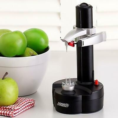 Kitchen Electric Auto Potato Peeler Automatic Pear Apple Fruit Cutter Slicer