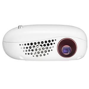 Pv150G Minibeam Led Projector 100 Lumens Built-In Battery 100 000:1 Contrast 30