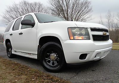 2008 Chevrolet Tahoe Police Tahoe PPV Non SSV Yukon Denali Suburban CHEVROLET TAHOE PPV POLICE PACKAGE PURSUIT 2008 LOW MILES SUPER CLEAN & FAST