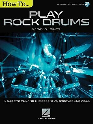 How to... Play Rock Drums By David Lewitt - Drum Music Book