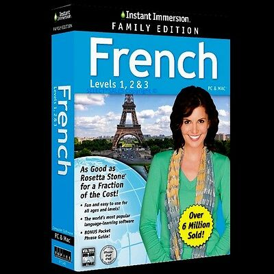 Learn Speak FRENCH Language Level 1,2,3 & Book What Rosetta Stone Won't Tell You