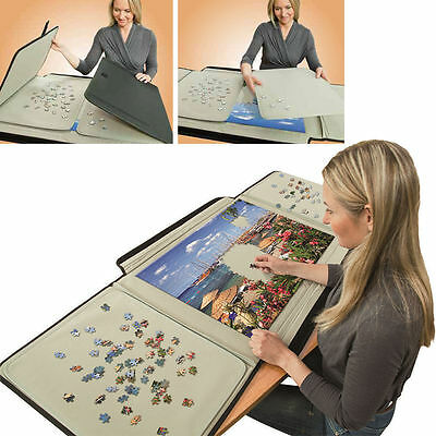 Bits And Pieces 1500 Piece Puzzle Caddy-Porta-Puzzle Jigsaw Caddy - Puzzle Table