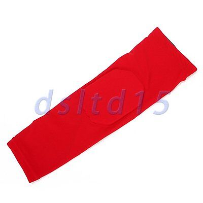 Red Basketball Shooting Cycling Honeycomb Knee Protection Gear Elbow Pad  L