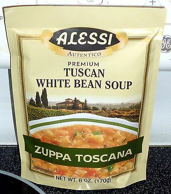 Alessi Zuppa Toscana Tuscan White Bean Soup 6 Ounce (Pack of 6)