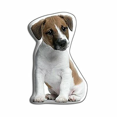 adorable Cushions Polyester satin drill/Velore jack Russel cuscino a forma di
