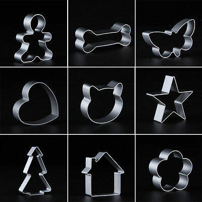 1pcs Biscuit Cookie Cutter Baking Mould DIY Tool Pastry Fondant Mould Cake Decor