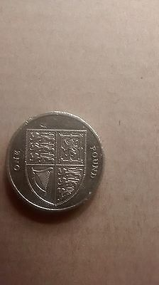 Royal Shield of Arms £1 Coin  One Pound  coin hunt