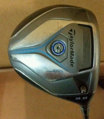 TaylorMade JetSpeed Driver Golf Club. 9.5 with Stiff Shaft and headcover