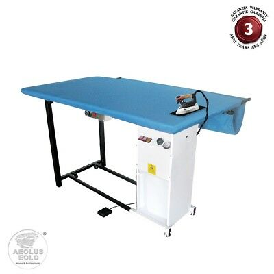 PROFESSIONAL IRONING BOARD LARGE SIZE iron with boiler automatic ref.  EOLO TS07