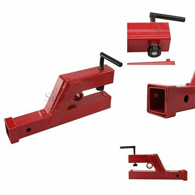 "18inch Red Clamp On Trailer Receiver Hitch 2"" for Deere Bobcat Tractor Bucket"