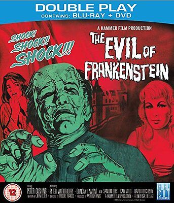 The Evil Of Frankenstein        Blu Ray + Dvd        New/sealed
