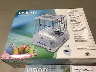 Vision S01 Birdcage With Stand NEW BUDGIE CANARY FINCH