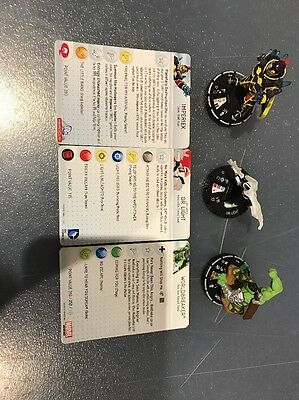 Silver IMPERIEX, Silver WORLDBREAKER and Dr Light dc/marvel Heroclix