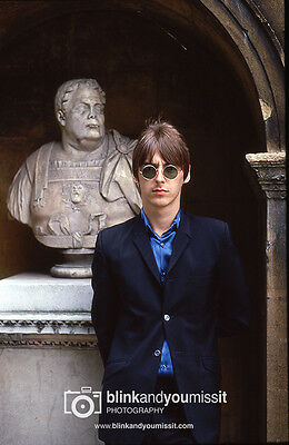 The Jam Paul Weller 12 x 8in Photographic print Chiswick House Photo Shoot 1981