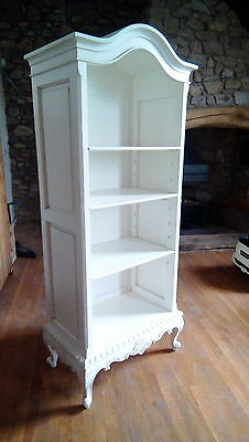 French Armoire open bookcase