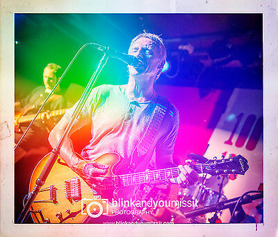 Paul Weller The Jam 12 x 8in Photographic print The 100 Club 20.05.14