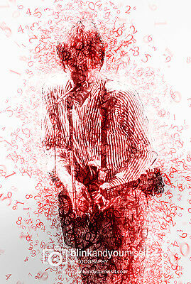 Paul Weller The Jam 12 x 8in Photographic print Away From The Numbers