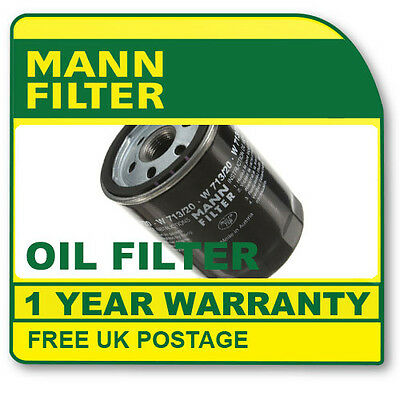 W719/13 MANN HUMMEL OIL FILTER (Mercedes cars) NEW O.E SPEC!