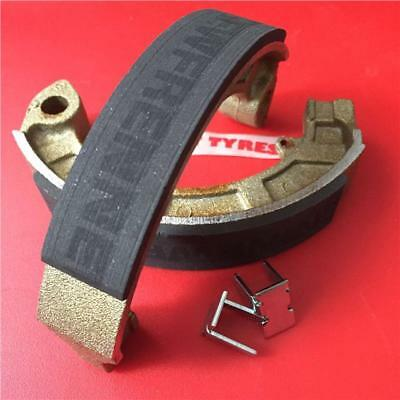 Vespa Px 150 E 1981>1984 Newfren Brake Shoes - New Race Compound - Rear ( 12254