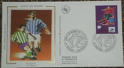 """1998 World Cup France 1st Day Cover """"TOULOUSE"""""""
