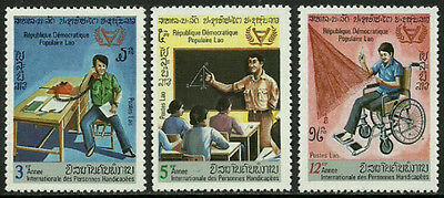 Laos #343-5 Mint Never Hinged Complete Set - Year of the Diabled