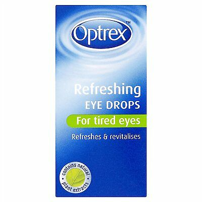 Optrex Refreshing Eye Drops for Tired Eyes - relieves and revitalises 10ml