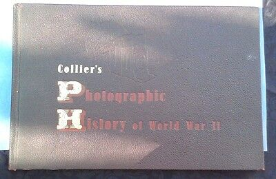 Vintage, 1945, Collier's Photographic History Book Of Wwii, 800 + Photos