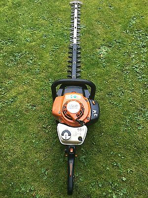 stihl hs81rc petrol hedge trimmer hedge cutter  30inch blade