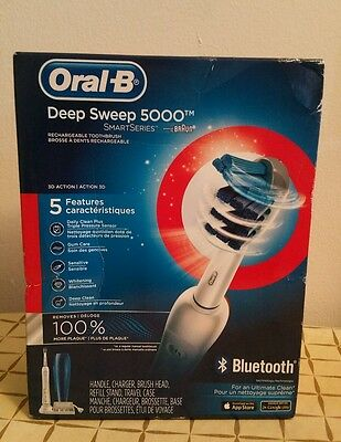 Oral-B Deep Sweep 5000 Smartseries Bluetooth