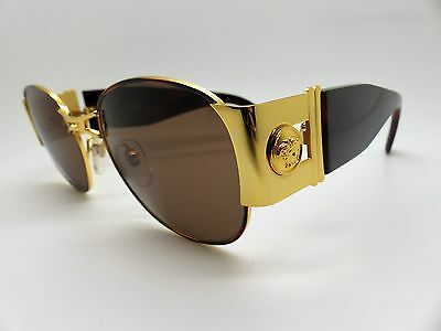 Versace Gianni Sunglasses Mod S67 Col. 07M Vintage Genuine New Old Stock