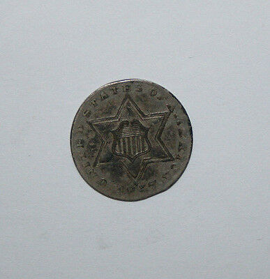 1857 Three Cent Silver   J14