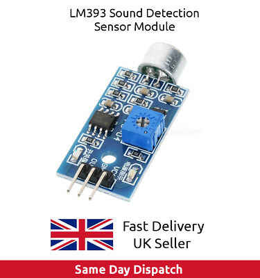 LM393 Sound Detection Detector Sensor Module for Arduino, Raspberry Pi - UK FAST