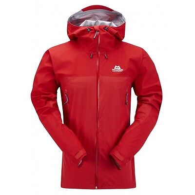 Mountain Equipment Men's Firefox Goretex Active Jacket. Imperial Red, Large BNWT