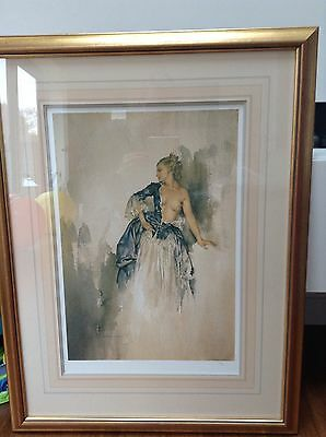 Sir William Russell Flint - Ray, Framed & Signed Print