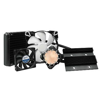 ARCTIC Accelero Hybrid III-140 (GTX 770) - Multi-compatible Air/Liquid Co... New