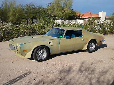 1970 Pontiac Trans Am  Rare Lucerne Blue AC Car Solid Hard To Find 1970 1/2 Trans Am Real Deal Rare Factory Lucerne Blue Factory AC Very Solid
