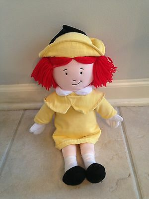 Madeline Doll Plush With Yellow Dress Celebrating 70 Years