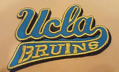 """UCLA Bruins Vintage Embroidered Iron On Patch  3"""""""" x 1.5"""" NCAA"""