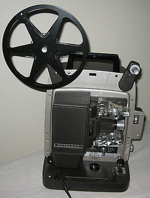 Vintage Bell & Howell 346A Super 8 Autoload Movie Film Projector - Works